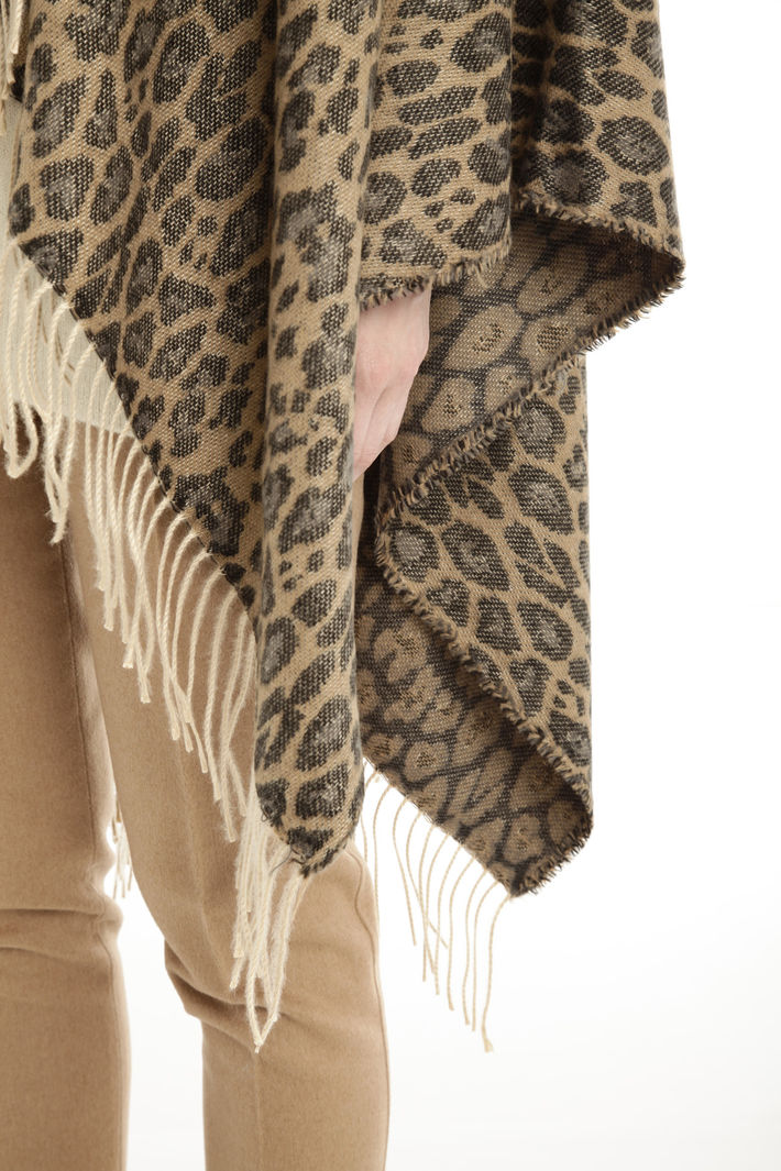 Poncho animalier Fashion Market