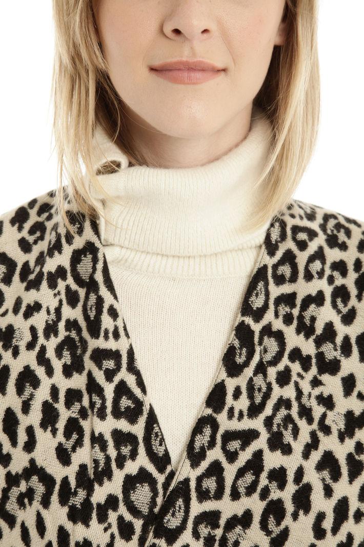Poncho animalier Fashion Market