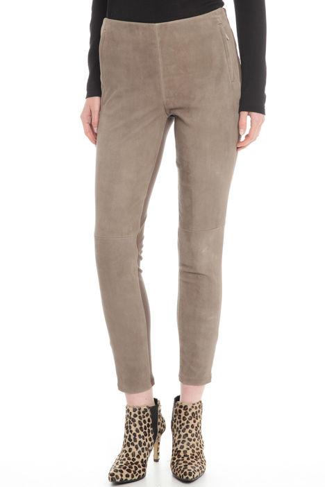 Pantaloni suede Diffusione Tessile