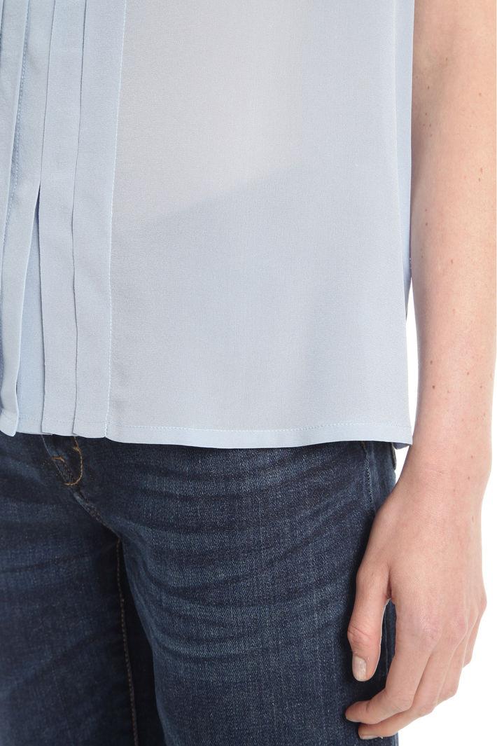 Top con scollo a sciarpa Diffusione Tessile