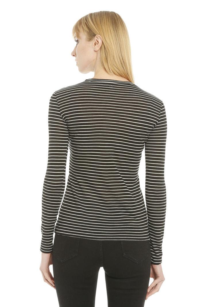 T-shirt in jersey garzato Diffusione Tessile