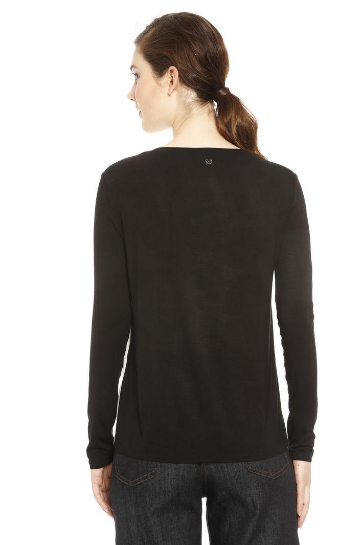 T-shirt in seta e jersey Diffusione Tessile