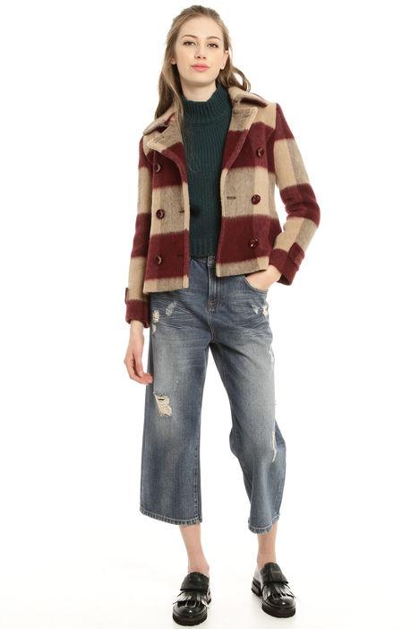 Caban in misto lana Diffusione Tessile