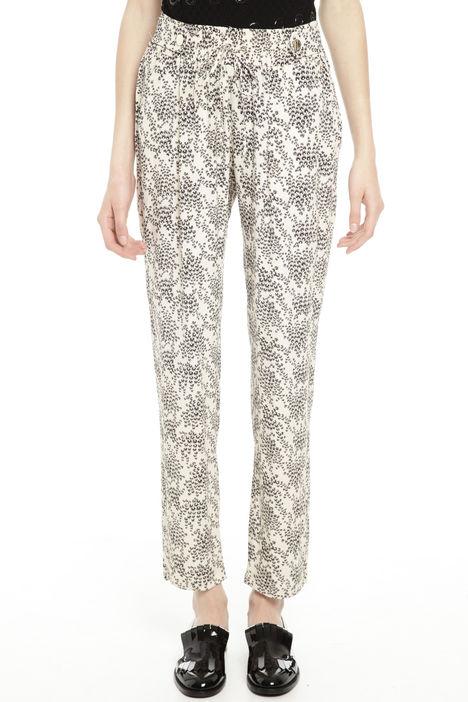 Pantaloni in tessuto crepe Diffusione Tessile
