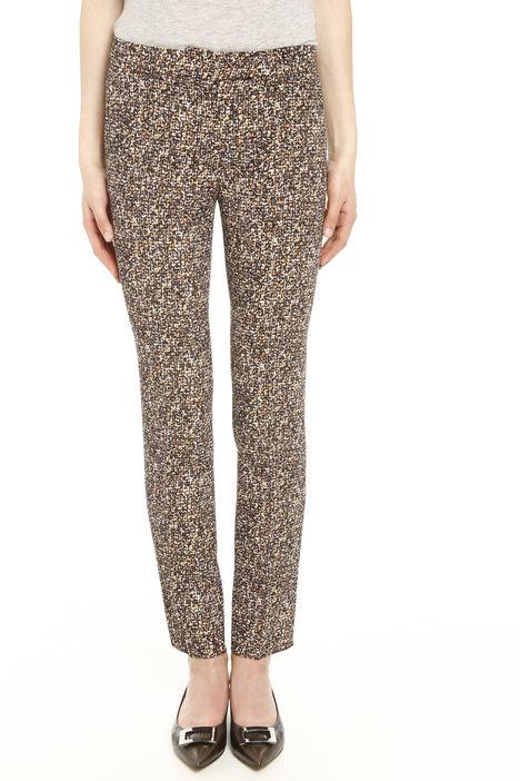 Pantaloni fantasia in cady Diffusione Tessile