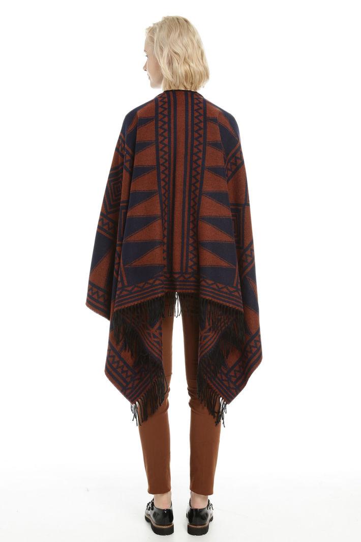 Poncho over asimmetrico Fashion Market