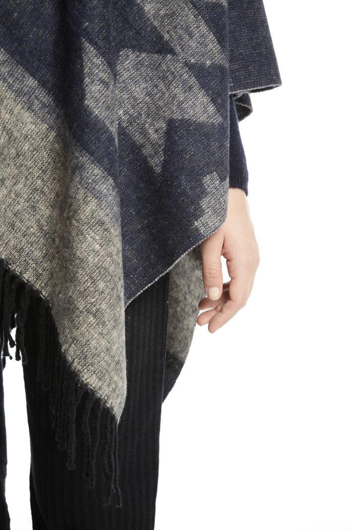 Poncho in misto cotone Fashion Market