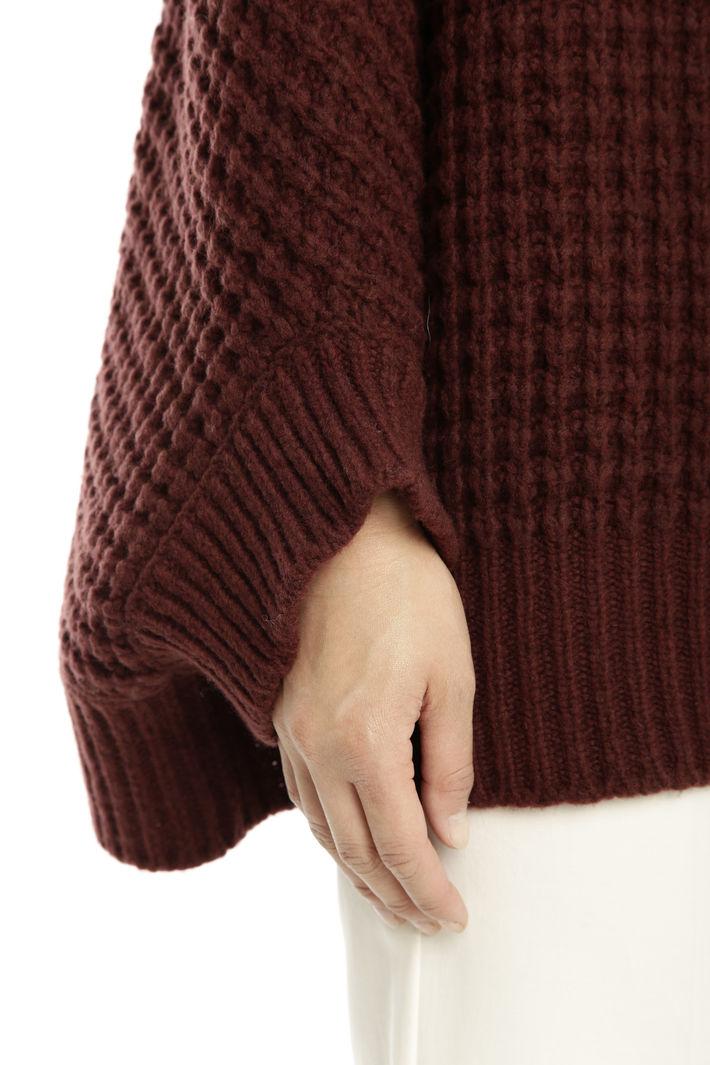 Cappa oversize in lana Diffusione Tessile