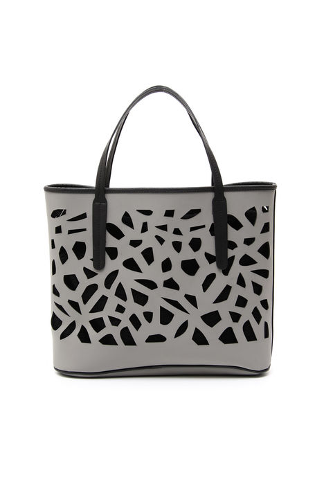 Shopping bag con intarsi Intrend