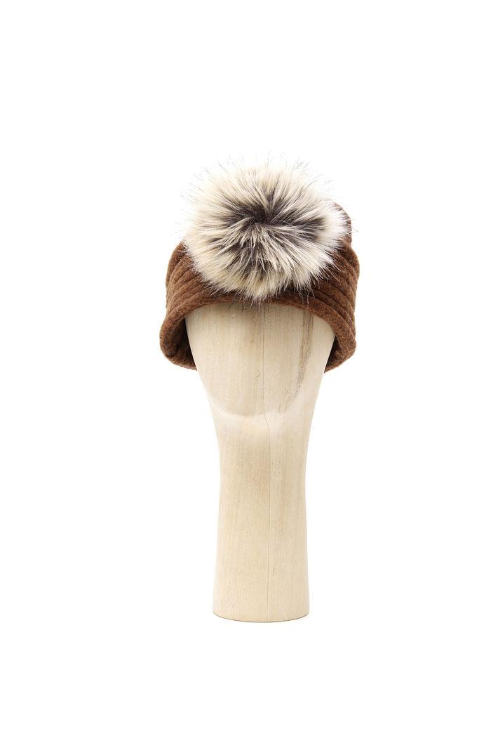 Cappello con pon-pon Fashion Market