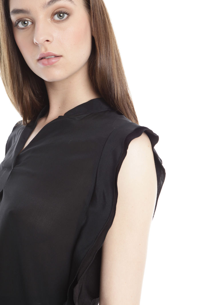 Blusa in cotone e seta Diffusione Tessile