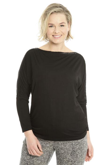T-shirt in jersey con decoro Diffusione Tessile