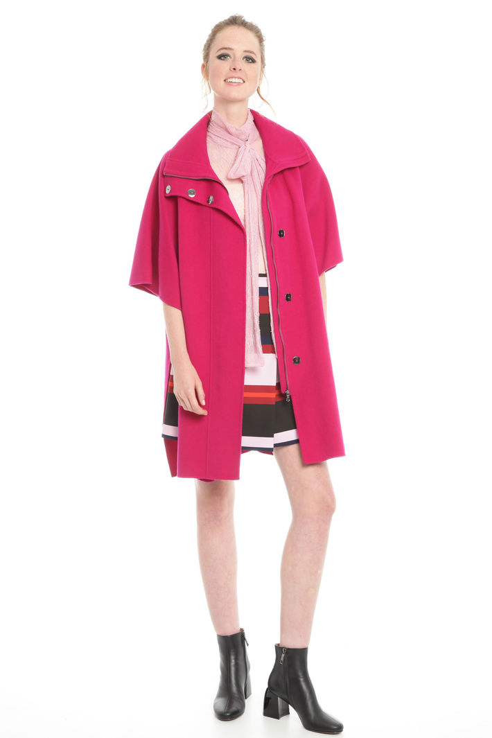 Cappotto con maniche kimono Diffusione Tessile