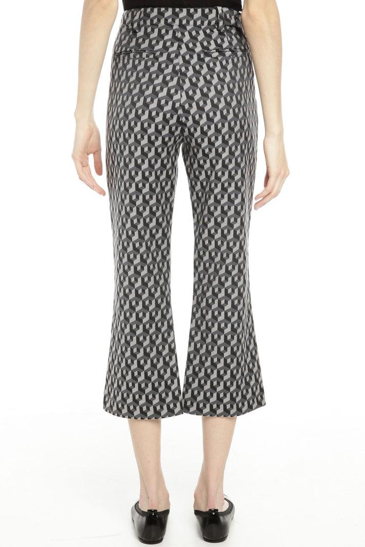 Pantaloni in tessuto jacquard Diffusione Tessile