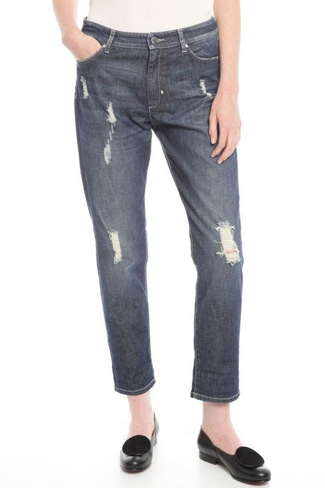 Jeans in denim di cotone Diffusione Tessile