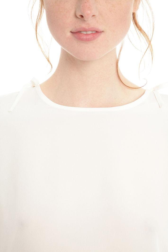 Casacca in crepe de chine Diffusione Tessile