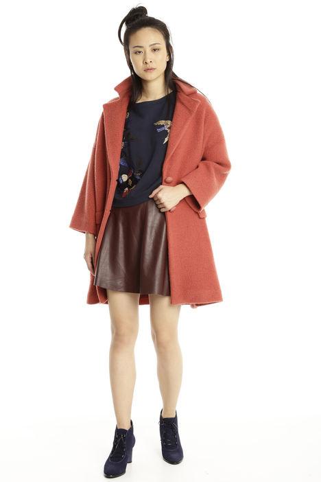 Cappotto in lana foderato Diffusione Tessile