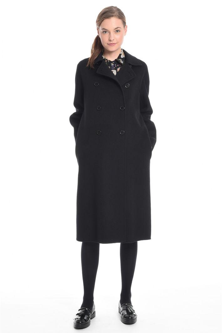 Cappotto doppiopetto in drap Fashion Market