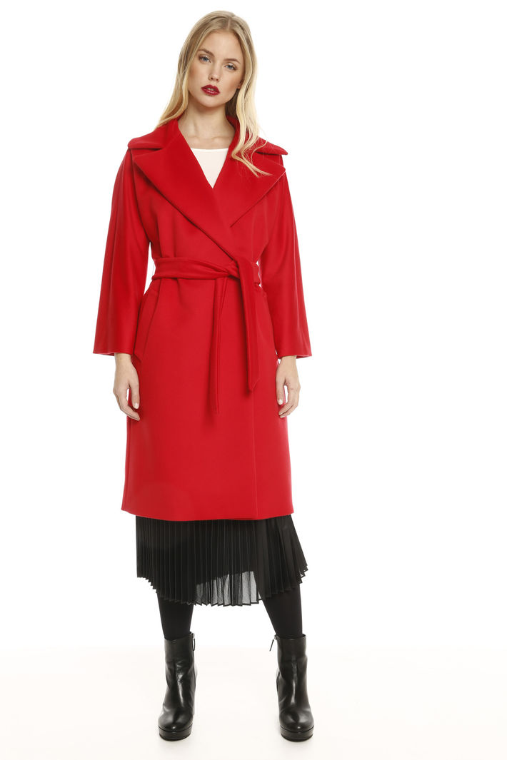 Cappotto con maxi revers Fashion Market