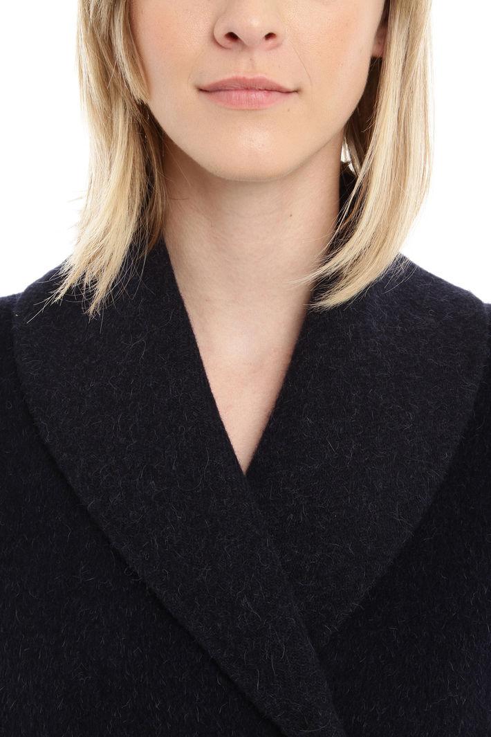 Cappotto in lana e angora Diffusione Tessile