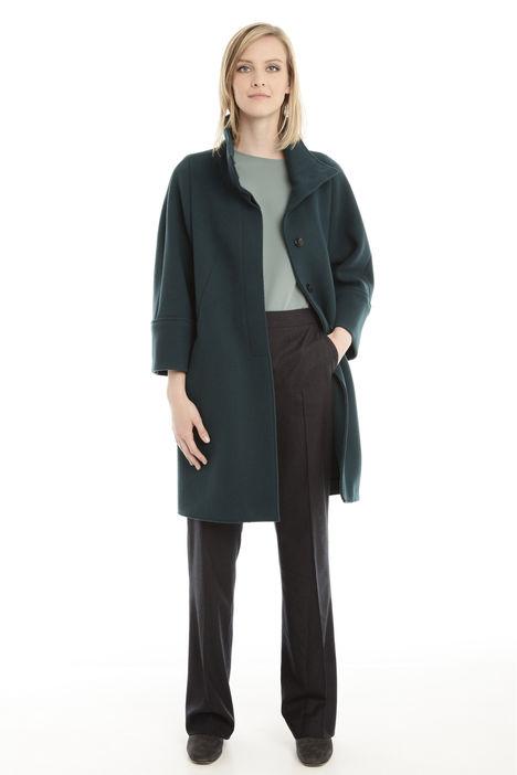 Cappotto double in misto lana Diffusione Tessile