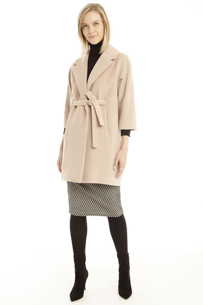 Cappotto in velour di lana Fashion Market