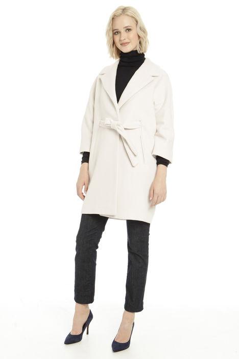 Cappotto in velour di lana Diffusione Tessile