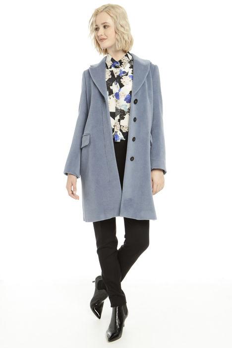 Cappotto in misto lana vergine Diffusione Tessile