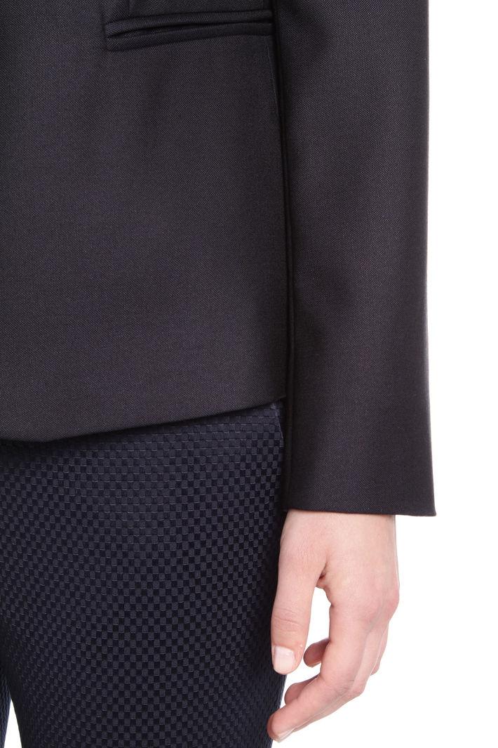 Blazer in lana e seta Fashion Market