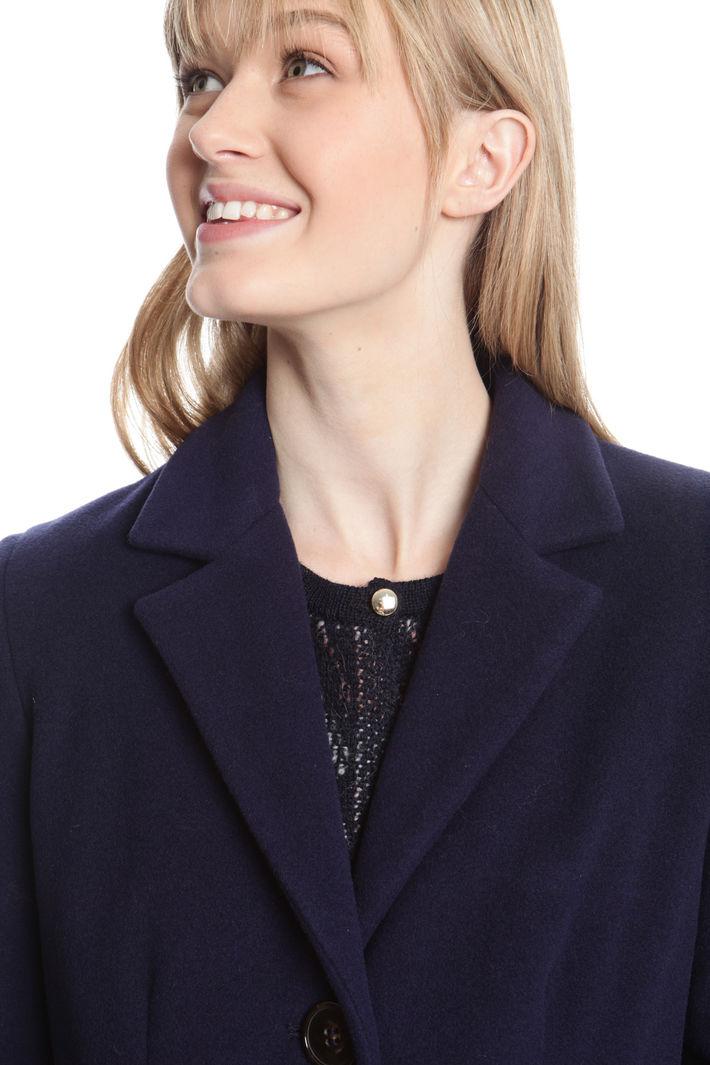 Cappotto in drap di lana Fashion Market