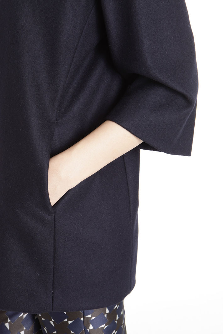 Cappotto con scollo rotondo Fashion Market