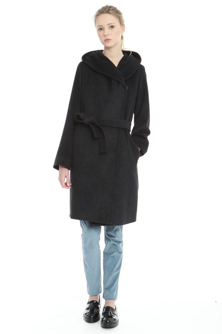 Cappotto con bottone singolo Fashion Market