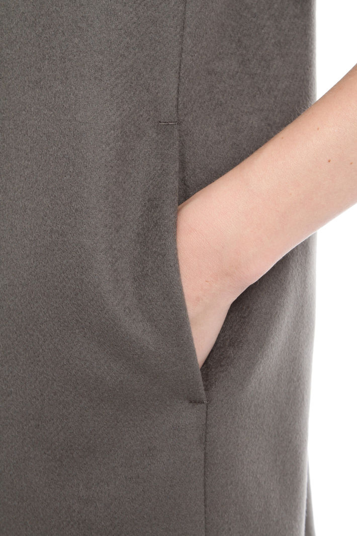 Cappotto in diagonale di lana Fashion Market