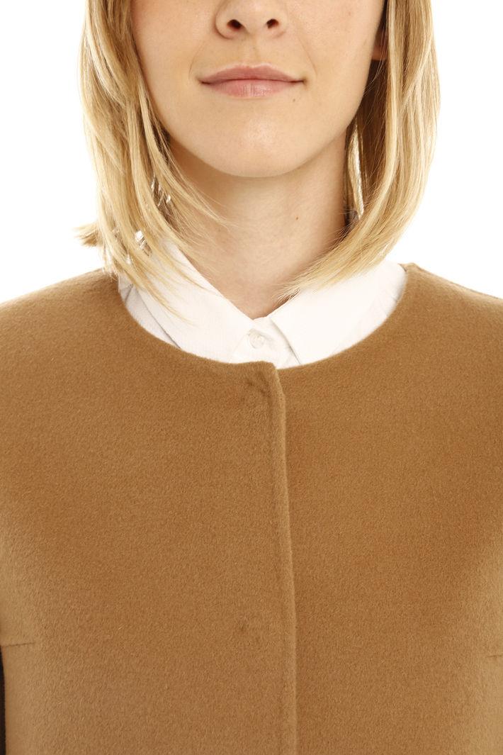 Cappotto in drap di lana Diffusione Tessile