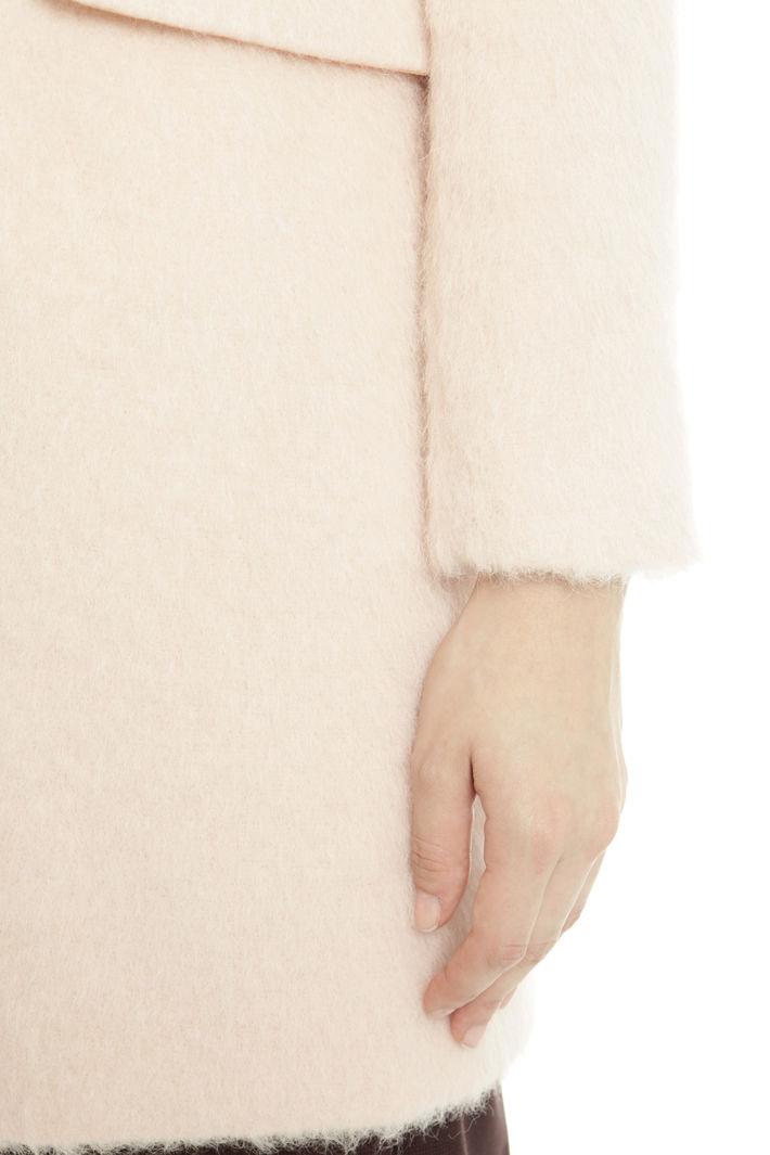 Cappotto in alpaca e mohair Fashion Market