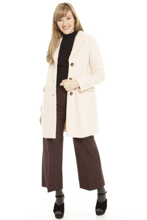 Cappotto in alpaca e mohair Diffusione Tessile