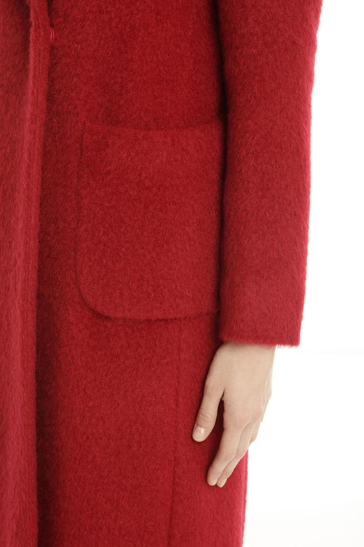 Cappotto in misto mohair Fashion Market
