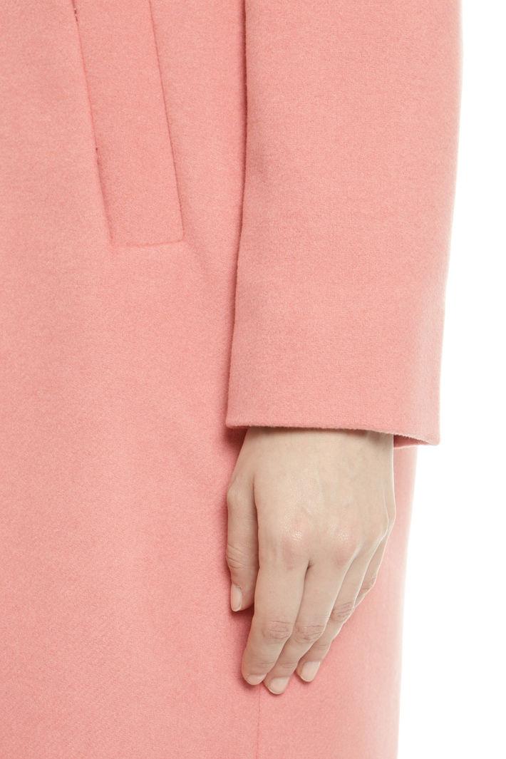 Cappotto monopetto in lana Diffusione Tessile