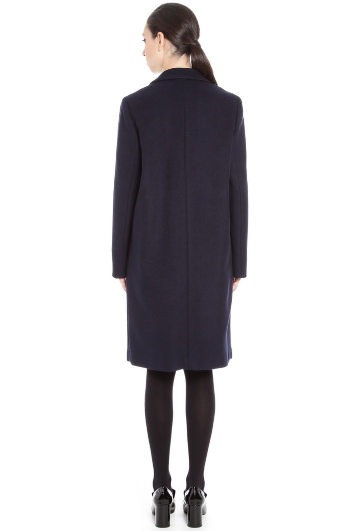 Cappotto monopetto in lana Fashion Market