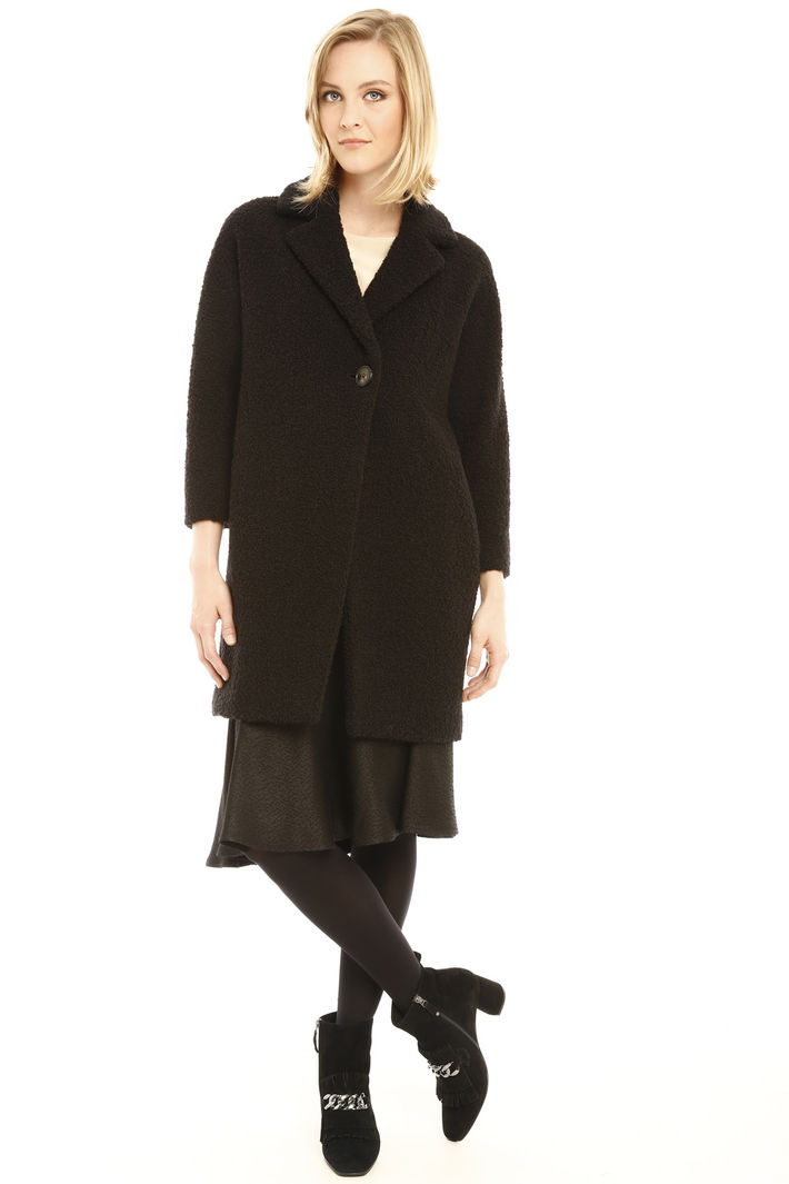 Cappotto in lana bouclè Fashion Market