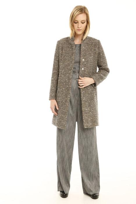 Cappotto in lana bottonata Diffusione Tessile