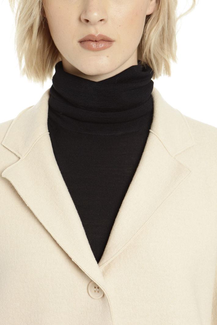 Capospalla sfoderato in lana Fashion Market