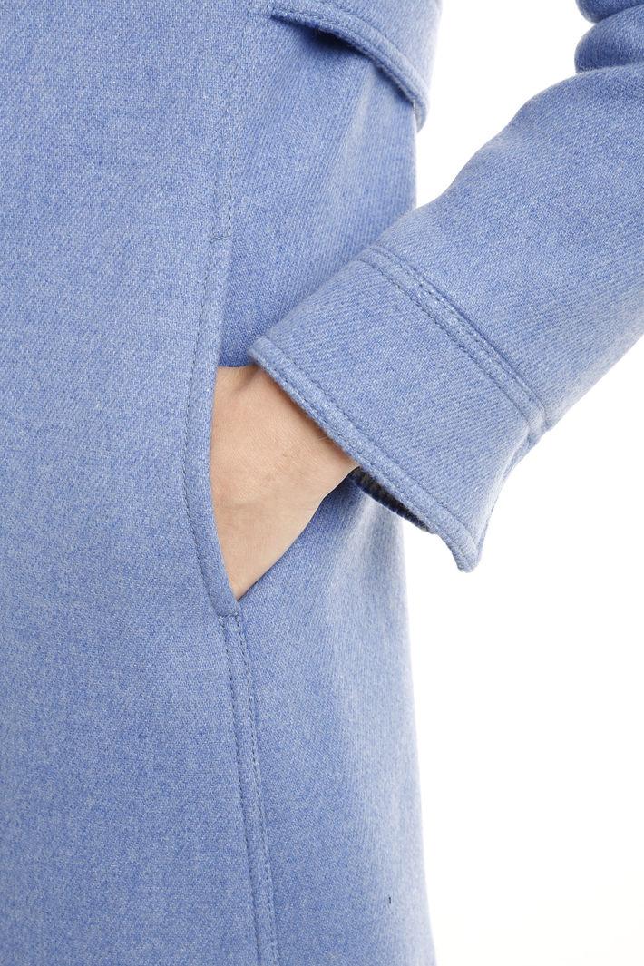 Cappotto in tessuto double Fashion Market