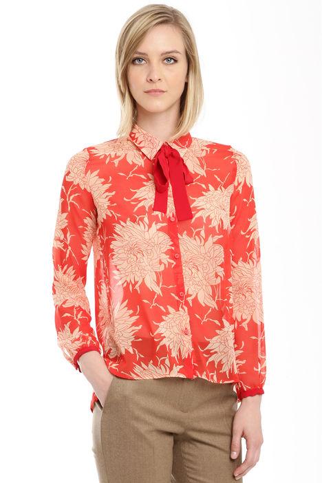 Camicia con tarsparenze Diffusione Tessile