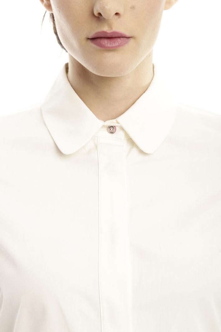 Camicia con trasparenze Diffusione Tessile