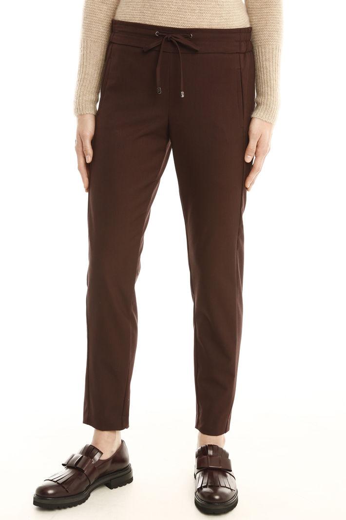 Pantalone con coulisse in vita Fashion Market
