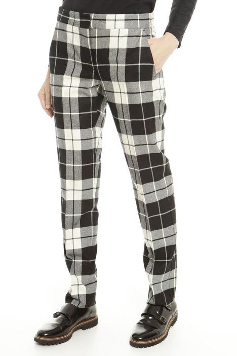 Pantaloni a quadri Diffusione Tessile