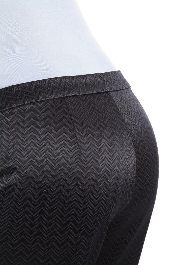 Pantaloni jacquard a sigaretta Fashion Market