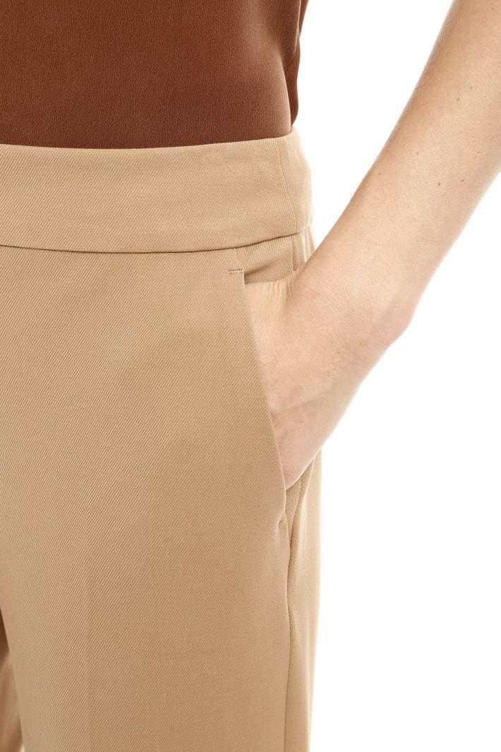 Pantaloni in tessuto diagonale Fashion Market