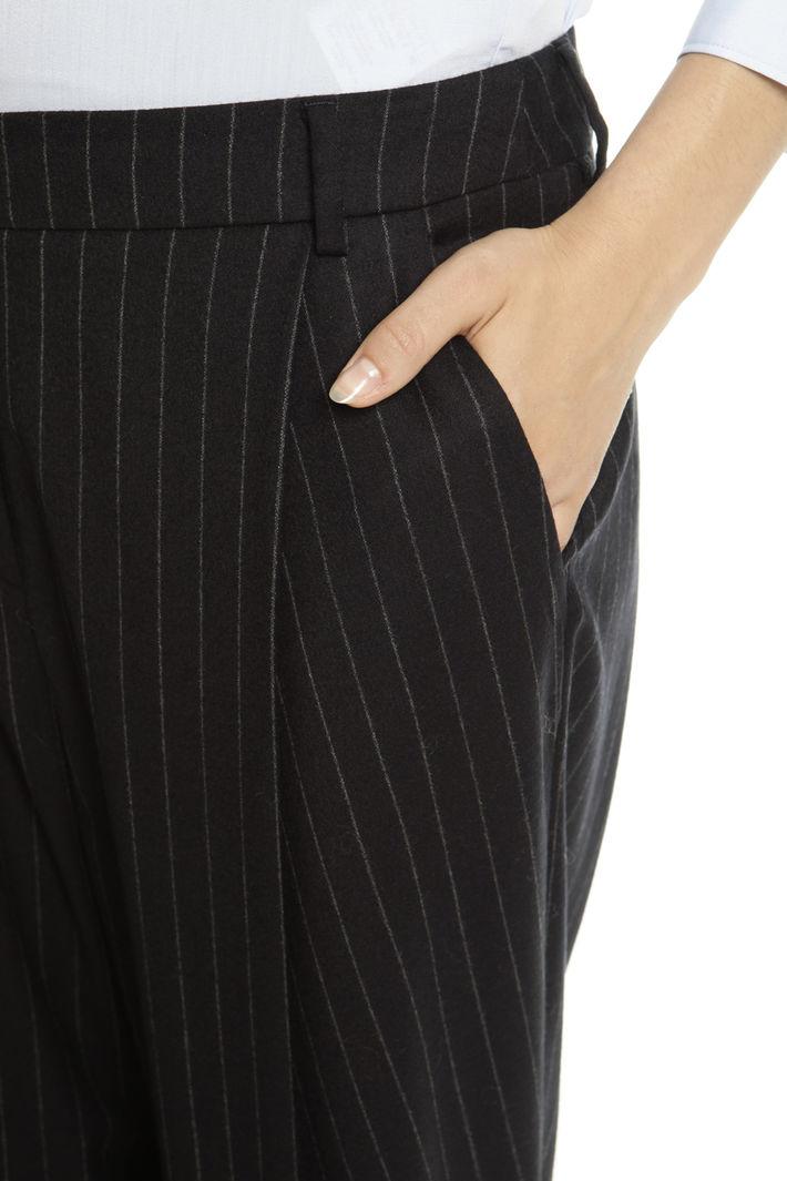 Pantalone palazzo con piega Fashion Market